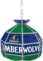 """Minnesota Timberwolves 16"""" Tiffany-Style Lamp"""