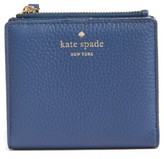 Kate Spade Women's Young Lane - Adalyn Leather Wallet - Blue