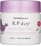 Dermadoctor KP Duty Dermatologist Formulated Body Scrub with Chemical + Physical Exfoliation, 16oz.