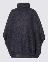 M&S Collection Mixed Stitch Poncho