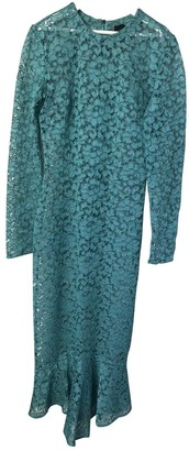 Burberry Blue Lace Dress for Women