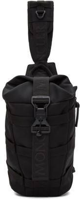 Moncler Black Argens Mono Sling Backpack