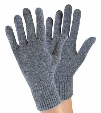 Sock Snob - Ladies/Womens Knitted Winter Warm Magic Thermal Wool Gloves for Cold Weather (One Size