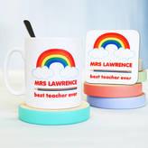 Sparks Living Personalised Rainbow Teacher Mug