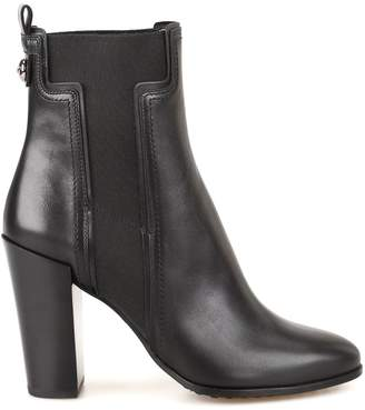 Tod's Chunky Heel Chelsea Boots