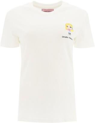 Chiara Ferragni Embroidered Detail T-Shirt