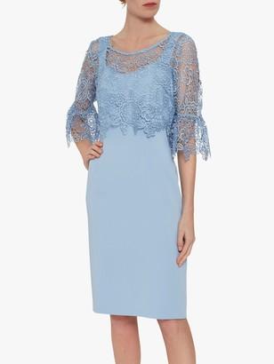 Gina Bacconi Amy Lace Overtop Dress