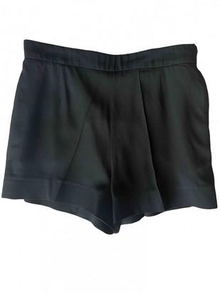 Chloé Black Viscose Shorts