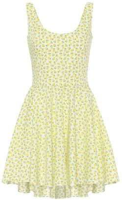 Caroline Constas Exclusive to Mytheresa a Kylie printed cotton minidress
