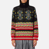 Maison Scotch Women's Special Jacquard Knitted Jumper Combo B