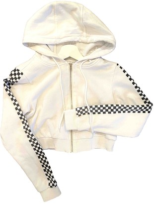 Danielle Guizio White Cotton Jackets