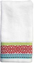 "Dena CLOSEOUT! Mistletoe Medallion 11"" x 18"" Fingertip Towel"