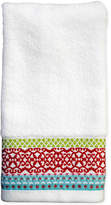 "Dena Mistletoe Medallion 11"" x 18"" Fingertip Towel Bedding"