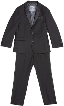 Appaman Boy's Two-Piece Tuxedo Suit, Size 2-14