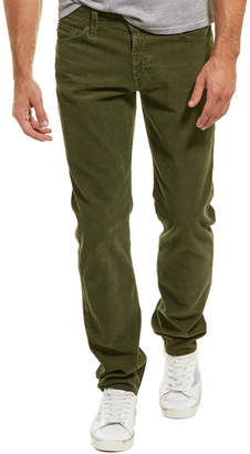 AG Jeans The Graduate Green Corduroy Tailored Leg