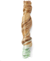 Hairdo. by Jessica Simpson & Ken Paves Honey Ginger & Light Green Wavy Ponytail Hair Extension