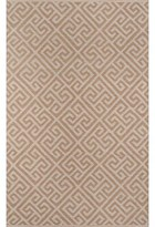 "Momeni Madcap Cottage By Palm Beach Brazilian Avenue Handwoven Flatweave Brown Indoor/Outdoor Area Rug Madcap Cottage by Rug Size: Rectangle 8'6"" x 11'6"""
