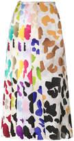 Marco De Vincenzo printed pleat skirt