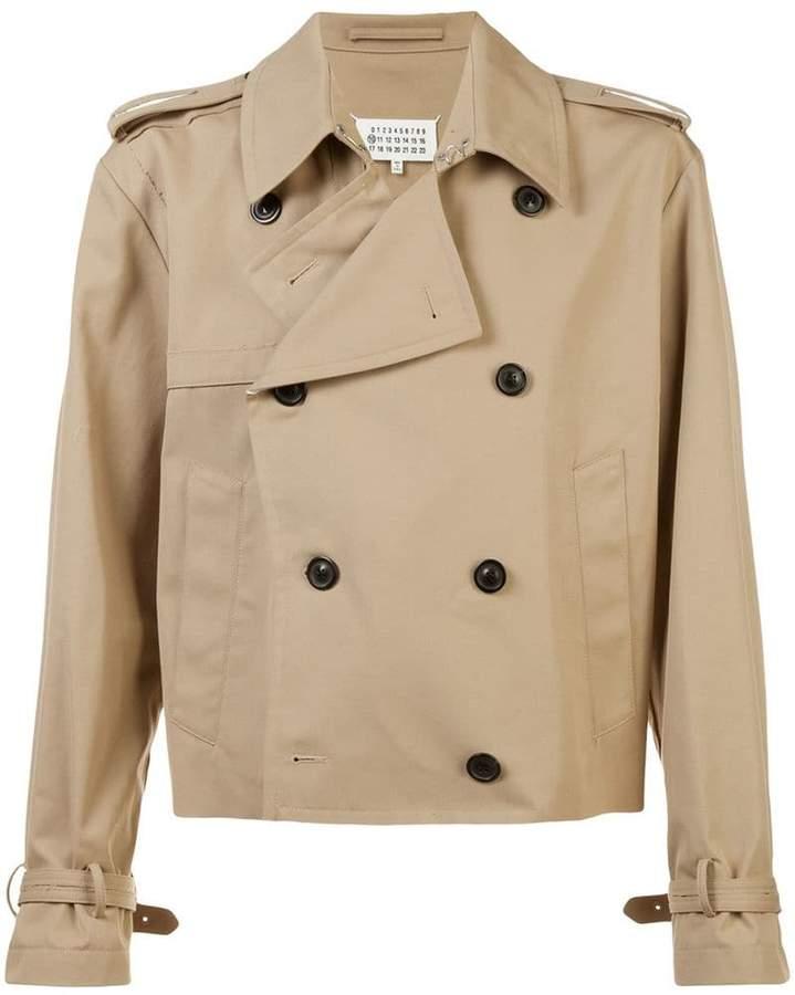 Maison Margiela double-breasted trench jacket