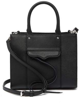 Rebecca Minkoff Mab Textured Leather Mini Tote