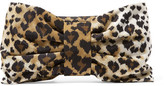 RED Valentino Leopard-Print Shell Clutch