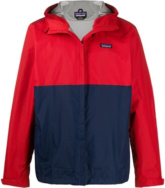 Patagonia Zip Up Block Colour Jacket