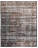 F.J. Kashanian One of a Kind Overdye Hand-Knotted Wool Rug