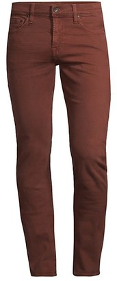7 For All Mankind Paxton Skinny Twill Jeans