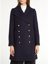 Somerset by Alice Temperley Pea Coat, Navy