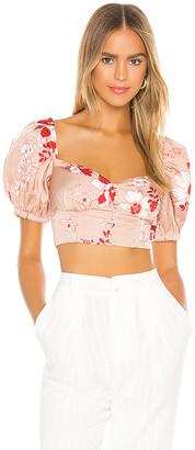 Camila Coelho Mercedes Crop Top