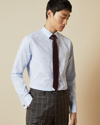 Ted Baker GRATEST Cotton jacquard shirt