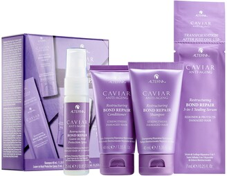 ALTERNA Haircare CAVIAR Anti-Aging Restructuring Bond Repair Trial Kit