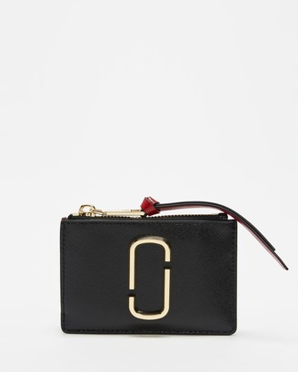 Marc Jacobs Women's Black Card Holders - Top Zip Multi Wallet - Size One Size at The Iconic