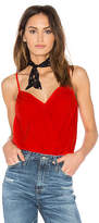 1 STATE Camisole Wrap Front Bodysuit