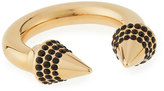 Vita Fede Titan Crystal Ring, Golden/Black