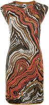 M Missoni abstract print knitted dress