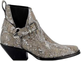 Mexicana Womans Multicolor Glitter Ankle Boots