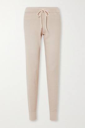 Varley Alice 2.0 Cotton-pique Track Pants - Neutral