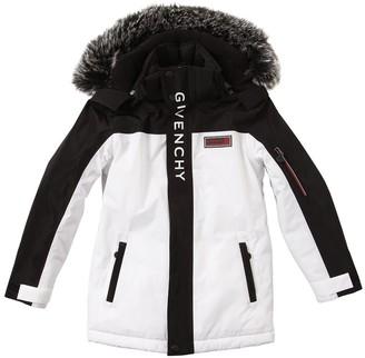 Givenchy Logo Coated Nylon Ski Jacket