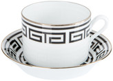 Richard Ginori 1735 - Labirinto Nero Teacup & Saucer