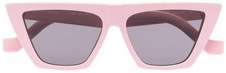 Tol Eyewear Trapezium tinted sunglasses