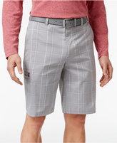 Greg Norman for Tasso Elba Men's Tech Performance Golf Plaid Shorts