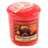Yankee Candle Sampler Votive Candle, Christmas Memories by
