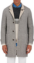 Brunello Cucinelli MEN'S BONDED REVERSIBLE COAT