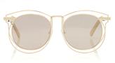 Karen Walker Superstar Simone Round-Frame Acetate Sunglasses