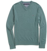 Tommy Hilfiger Cashmere V-Neck Sweater