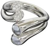 Georg Jensen George Jensen Aquamarine Diamonds Carnival Ring Size 7
