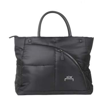 A-Cold-Wall* A Cold Wall Black Nylon Puffer Bag