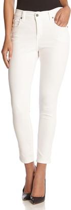 Karen Kane 'Zuma' Stretch Crop Skinny Jeans