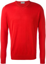 John Smedley - v-neck jumper - men - Cotton - XL